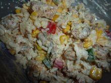 Kurczak po chinsku-salatka