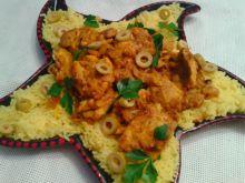 Kurczak po marokańsku z kiszoną cytryną