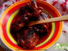 Kurczak selerowy z suszonymi pomidorami