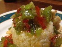 Kurczak słodko-ostry z ryżem  :)