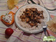 Kurczak staropolski z pieczarkami
