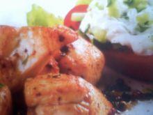 Kurczak w cydrze i kolorowym pieprzu