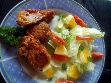 Kurczak w cynamonowej panierce