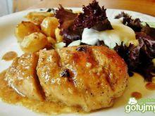 Kurczak w cytrynowej glazurze