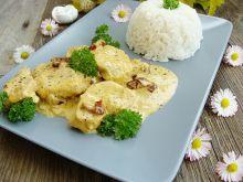 Kurczak w delikatnym sosie