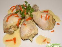 Kurczak w gruszkowo-jabłkowej  potrawce