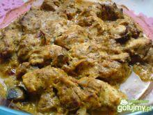 Kurczak w hinduskich przyprawach
