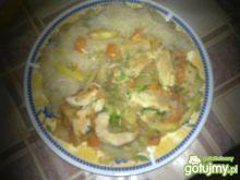 Kurczak w lekkim sosie