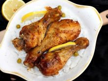 Kurczak w marynacie cytrynowo-miodowej z czosnkiem