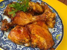 Kurczak w marynacie miodowo - czosnkowej
