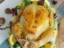 Kurczak w marynacie miodowo-pomarańczowej