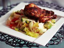 Kurczak w marynacie musztardowo keczupowej