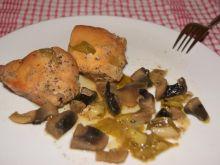 Kurczak w miodzie i warzywach