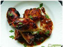 Kurczak w ostro - słodkiej glazurce