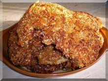 Kurczak w panierce orzechowo sezamowej