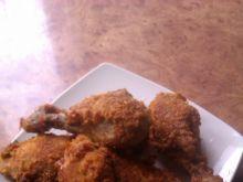 Kurczak w panierce z płatków kukurydzianych