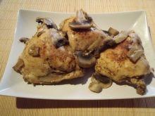 Kurczak w pieczarkach