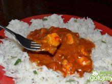 Kurczak w pikantnym pomidorowym sosie
