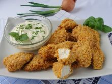 Kurczak w płatkach kukurydzianych