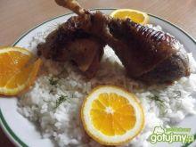 Kurczak w pomarańczach na słodko