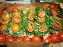 Kurczak w pomidorach i szpinaku