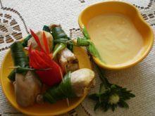 Kurczak w potrawce lekko serowej  :