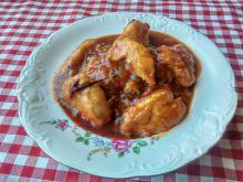 Kurczak w powidłach i ketchupie