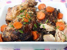 Kurczak w przyprawie Jamaican Jerk z marchewką