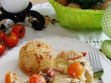 Kurczak w śmietanie z suszonym pomidorem
