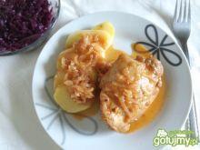 Kurczak w soku jabłkowym 2