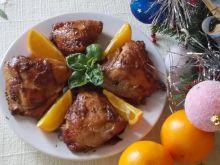 Kurczak w soku pomarańczowym
