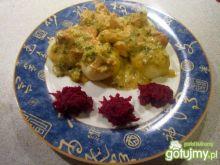 Kurczak w sosie brokułowym