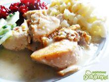 Kurczak w sosie chrzanowym