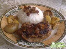 Kurczak w Sosie Cynamonowym z Ananasem'1