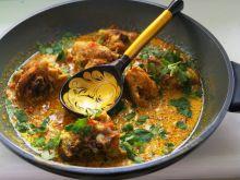 Kurczak w sosie śmietanowym ( pikantnym )