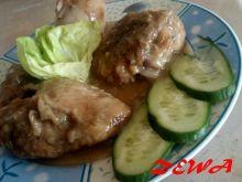 Kurczak w sosie sojowo-grzybowym