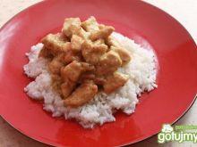 Kurczak w sosie Tajskie Zielone Curry