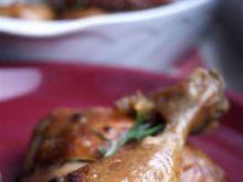 Kurczak w sosie z kawą