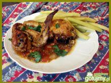 Kurczak w sosie z salsy cruda