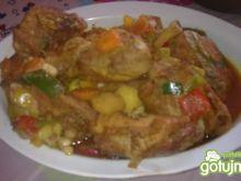 Kurczak w warzywach 7