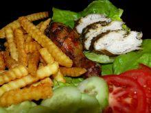 Kurczak w ziołowym rękawie
