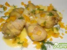 Kurczak w złotej  potrawce