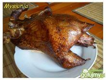 Kurczak wędzony z piwem