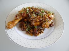 Kurczak z chilli i rodzynkami