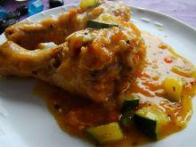 Kurczak z cukinią i warzywami