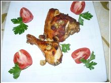 Kurczak z czosnkiem
