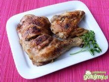 Kurczak z czosnkiem i bazylią