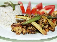 Kurczak z kaszą jaglaną -dietetycznie i smacznie