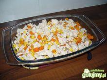 kurczak z kukurydzą i marchewką