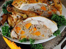 Kurczak z mięsem mielonym i dynią